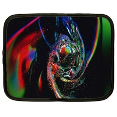 Abstraction Dive From Inside Netbook Case (XL)