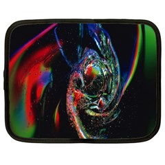 Abstraction Dive From Inside Netbook Case (XXL)