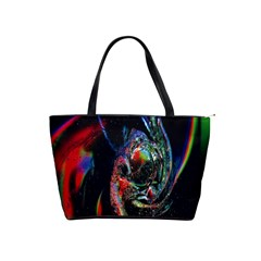 Abstraction Dive From Inside Shoulder Handbags