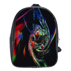 Abstraction Dive From Inside School Bags(Large)