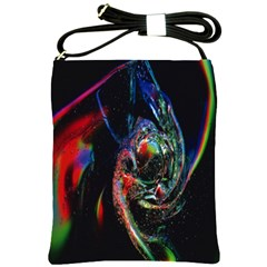 Abstraction Dive From Inside Shoulder Sling Bags