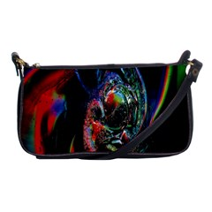 Abstraction Dive From Inside Shoulder Clutch Bags