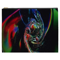 Abstraction Dive From Inside Cosmetic Bag (XXXL)
