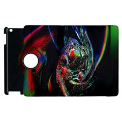 Abstraction Dive From Inside Apple iPad 2 Flip 360 Case