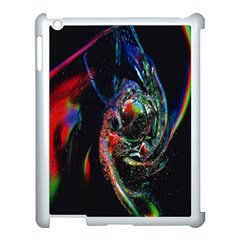 Abstraction Dive From Inside Apple iPad 3/4 Case (White)