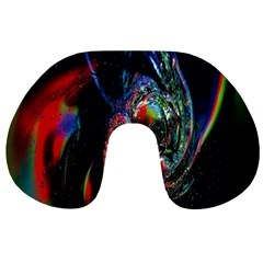 Abstraction Dive From Inside Travel Neck Pillows