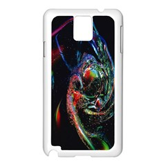 Abstraction Dive From Inside Samsung Galaxy Note 3 N9005 Case (White)