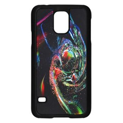 Abstraction Dive From Inside Samsung Galaxy S5 Case (Black)