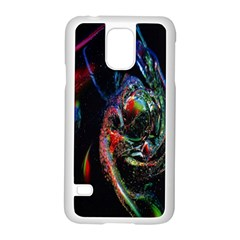 Abstraction Dive From Inside Samsung Galaxy S5 Case (White)