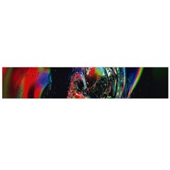 Abstraction Dive From Inside Flano Scarf (Large)