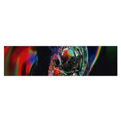 Abstraction Dive From Inside Satin Scarf (Oblong)