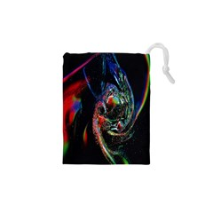 Abstraction Dive From Inside Drawstring Pouches (XS)