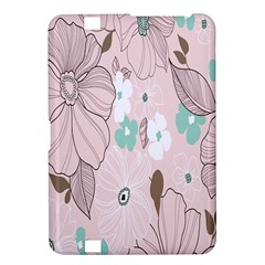 Background Texture Flowers Leaves Buds Kindle Fire HD 8.9