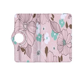 Background Texture Flowers Leaves Buds Kindle Fire HDX 8.9  Flip 360 Case