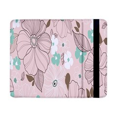 Background Texture Flowers Leaves Buds Samsung Galaxy Tab Pro 8.4  Flip Case