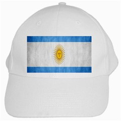 Argentina Texture Background White Cap