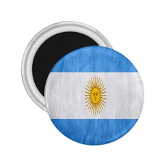 Argentina Texture Background 2.25  Magnets
