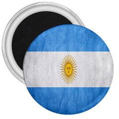 Argentina Texture Background 3  Magnets