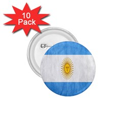 Argentina Texture Background 1.75  Buttons (10 pack)