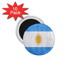 Argentina Texture Background 1.75  Magnets (10 pack)