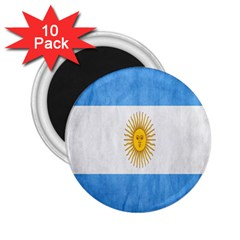 Argentina Texture Background 2 25  Magnets (10 Pack)