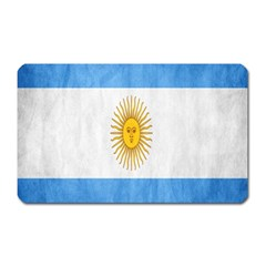 Argentina Texture Background Magnet (Rectangular)