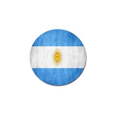 Argentina Texture Background Golf Ball Marker (10 pack)