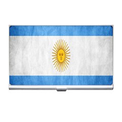 Argentina Texture Background Business Card Holders