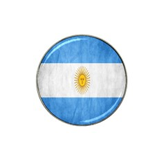 Argentina Texture Background Hat Clip Ball Marker