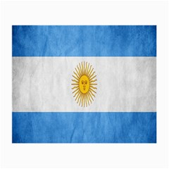 Argentina Texture Background Small Glasses Cloth