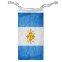 Argentina Texture Background Jewelry Bag