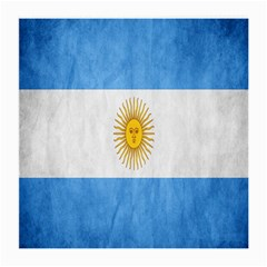 Argentina Texture Background Medium Glasses Cloth (2-Side)
