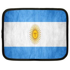 Argentina Texture Background Netbook Case (Large)