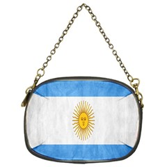 Argentina Texture Background Chain Purses (one Side)