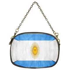 Argentina Texture Background Chain Purses (two Sides)