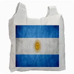 Argentina Texture Background Recycle Bag (two Side)