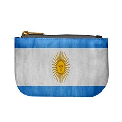 Argentina Texture Background Mini Coin Purses