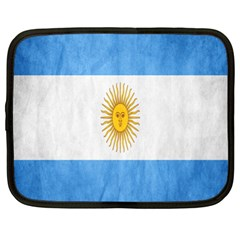 Argentina Texture Background Netbook Case (xl)