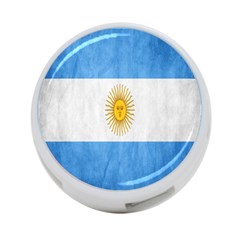 Argentina Texture Background 4-Port USB Hub (Two Sides)