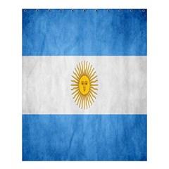 Argentina Texture Background Shower Curtain 60  x 72  (Medium)
