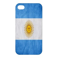 Argentina Texture Background Apple Iphone 4/4s Hardshell Case
