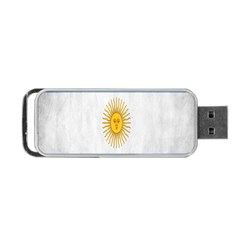 Argentina Texture Background Portable USB Flash (One Side)