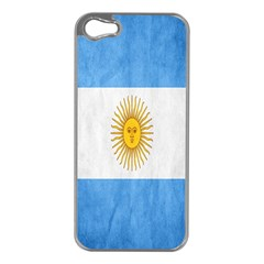 Argentina Texture Background Apple Iphone 5 Case (silver)
