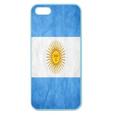 Argentina Texture Background Apple Seamless iPhone 5 Case (Color)