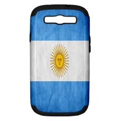 Argentina Texture Background Samsung Galaxy S III Hardshell Case (PC+Silicone)