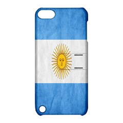 Argentina Texture Background Apple iPod Touch 5 Hardshell Case with Stand