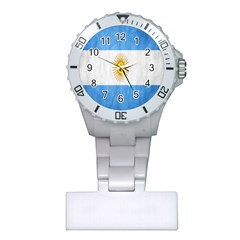 Argentina Texture Background Plastic Nurses Watch