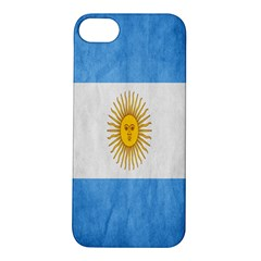 Argentina Texture Background Apple iPhone 5S/ SE Hardshell Case