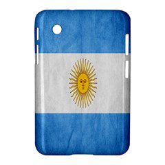 Argentina Texture Background Samsung Galaxy Tab 2 (7 ) P3100 Hardshell Case
