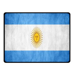 Argentina Texture Background Double Sided Fleece Blanket (Small)